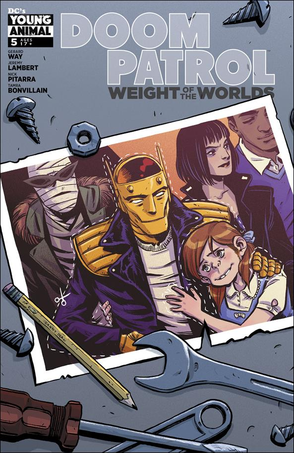 Doom Patrol: Weight of the Worlds 5-A by DC's Young Animal
