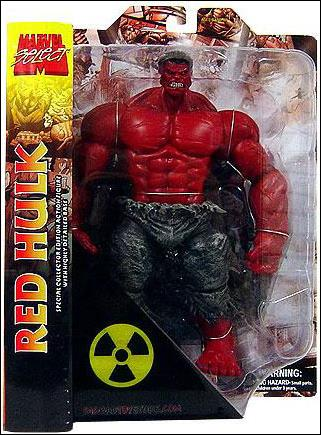 Marvel Select Red Hulk by Diamond Select