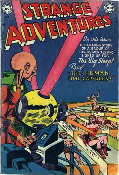 Strange Adventures (1950) 31-A by DC