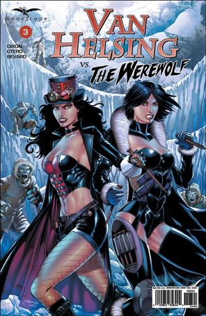 Van Helsing vs. the Werewolf 3-B