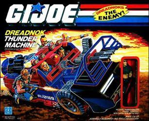 "G.I. Joe: A Real American Hero 3 3/4"" Basic Vehicles and Playsets Dreadnok Thunder Machine"