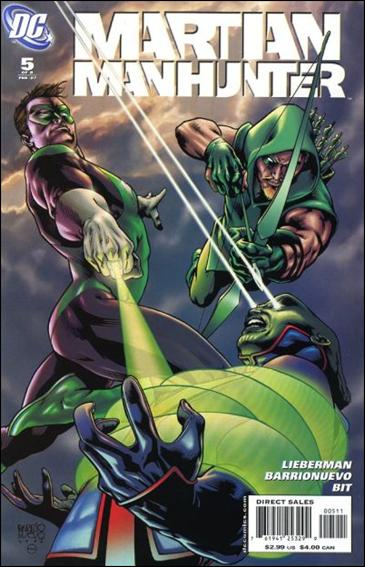 Martian Manhunter (2006) 5-A by DC