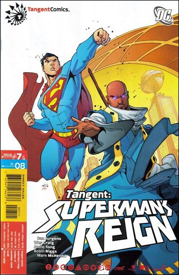 Tangent: Superman's Reign 7-A by DC