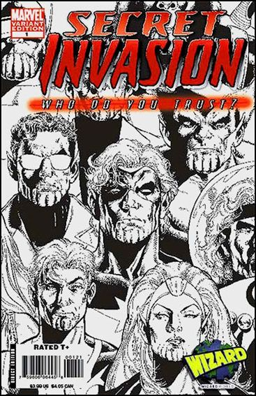 Secret Invasion: Who Do You Trust? 1-B by Marvel