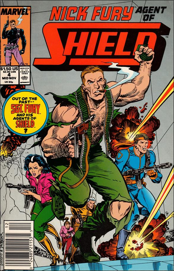 Nick Fury, Agent of S.H.I.E.L.D. (1989) 4-A by Marvel