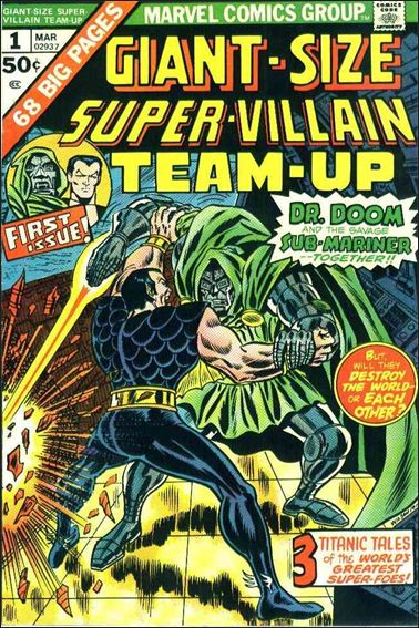 Giant-Size Super-Villain Team-Up 1-A by Marvel