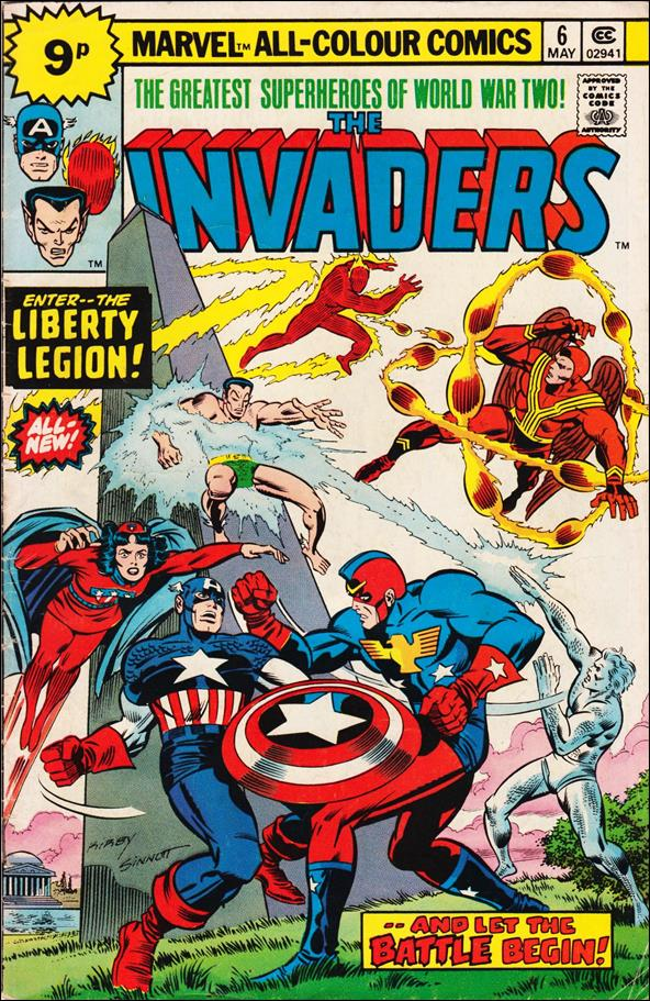 Invaders (1975) 6-C by Marvel