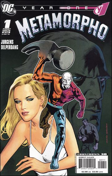 Metamorpho: Year One 1-A by DC