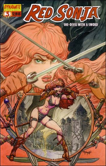 Red Sonja (2005) 3-C by Dynamite Entertainment