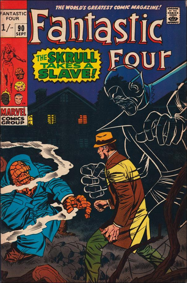 Fantastic Four (1961) 90-B by Marvel