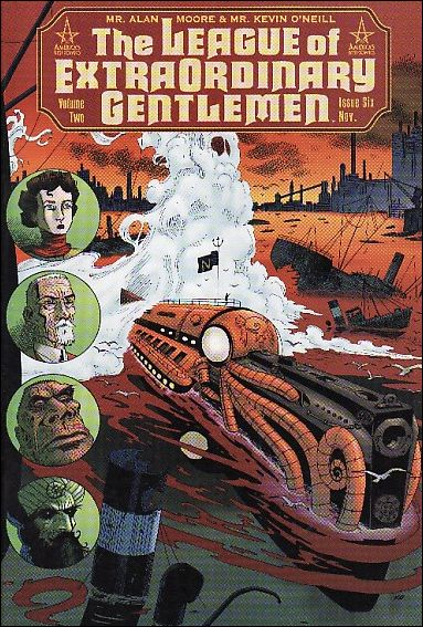 League of Extraordinary Gentlemen (2002) 6-A by America's Best Comics