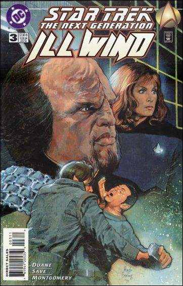 Star Trek: The Next Generation—Ill Wind 3-A by DC