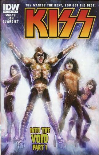 Kiss (2012) 7-B by IDW