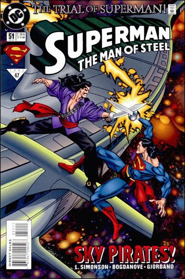 Superman: The Man of Steel 51-A by DC