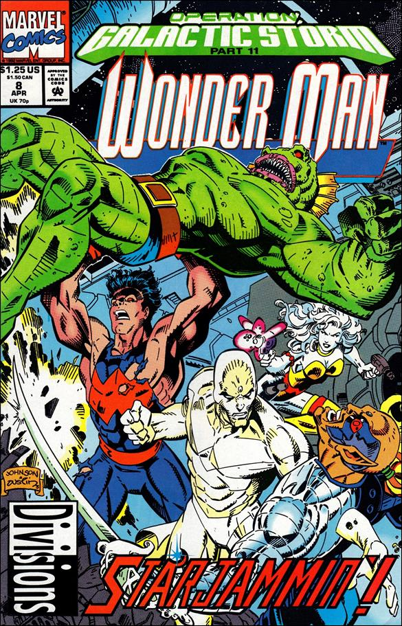 Wonder Man (1991) 8-A by Marvel