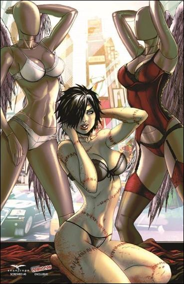 Screwed 5-D by Zenescope Entertainment