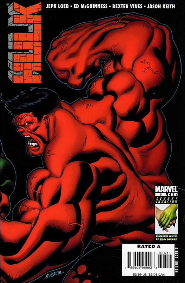 Hulk (2008)  6-A by Marvel