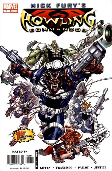 Nick Fury's Howling Commandos 1-A by Marvel