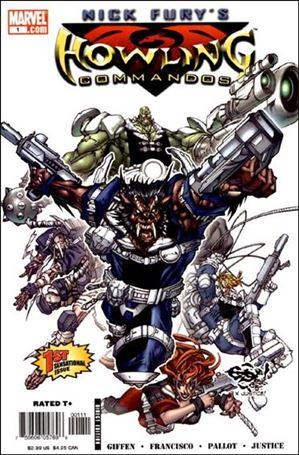 Nick Fury's Howling Commandos 1-A