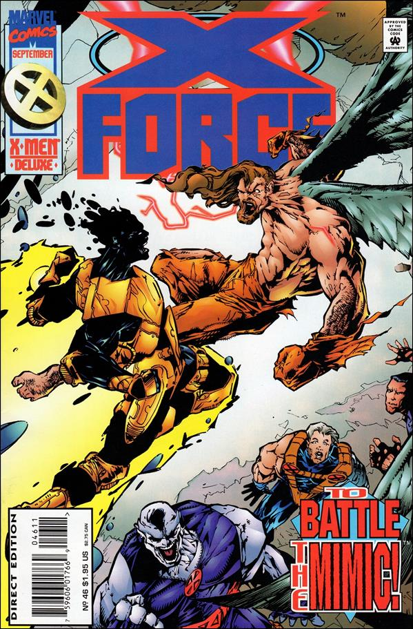 X-Force (1991) 46-A by Marvel