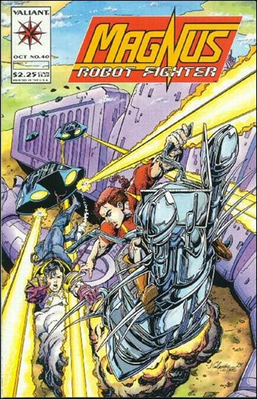 Magnus Robot Fighter (1991) 40-A by Valiant