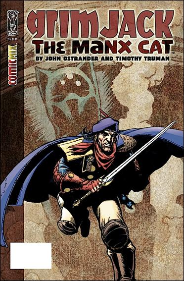 Grimjack: The Manx Cat 1-A by IDW