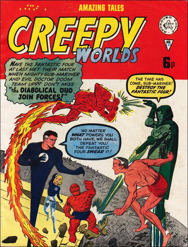 Creepy Worlds (UK) 130-A by Alan Class