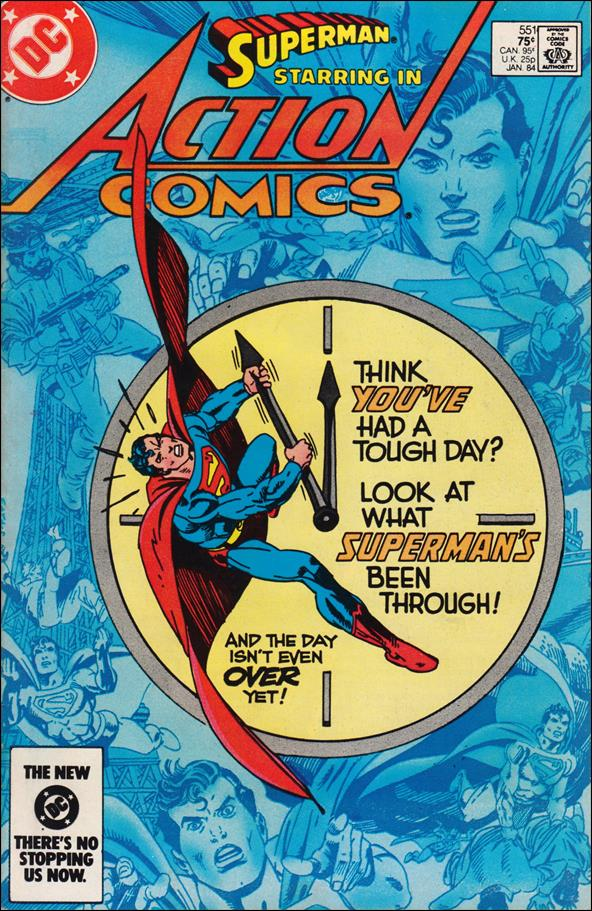 Action Comics (1938) 551-A by DC