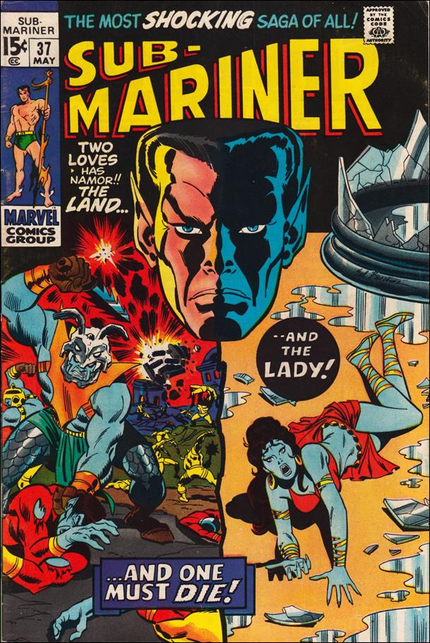 Sub-Mariner (1968) 37-A by Marvel