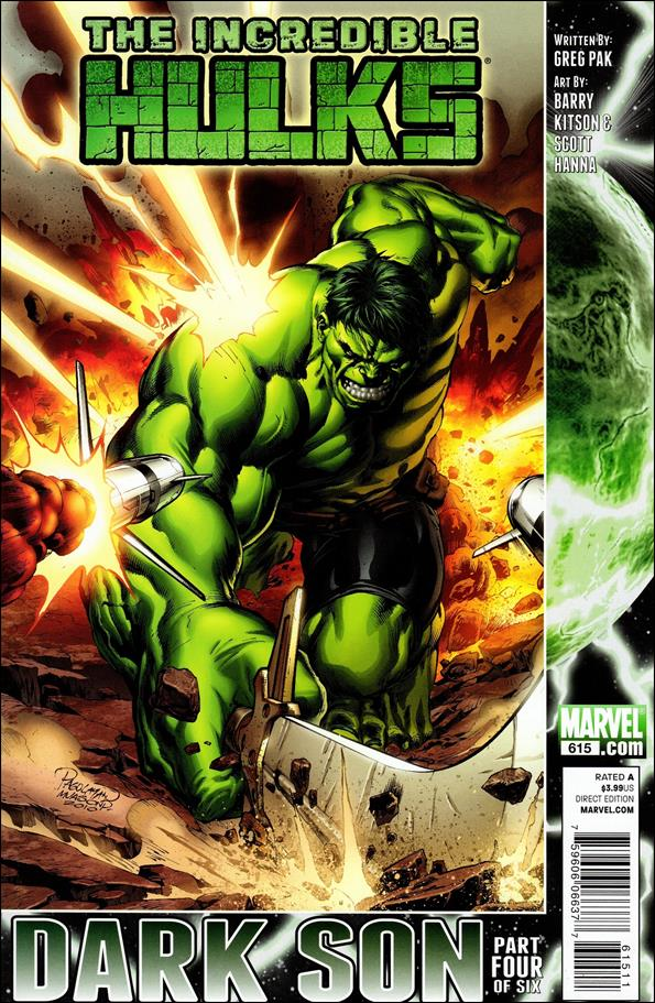 Incredible Hulks 615-A by Marvel