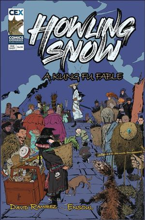 Howling Snow: A Kung Fu Fable One Shot-A