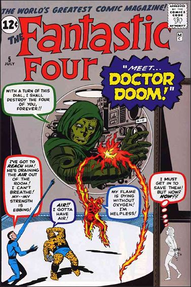 Fantastic Four (1961) 5-A by Marvel