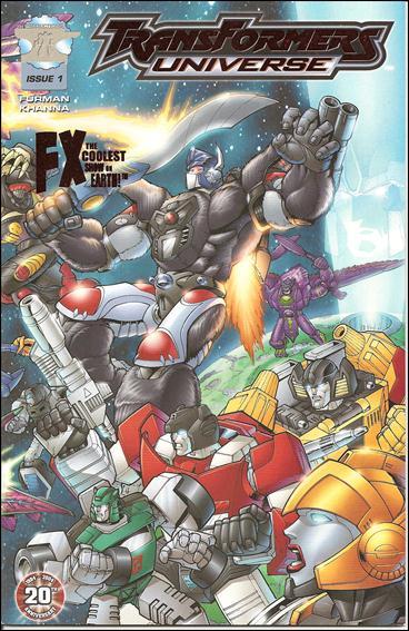 Transformers Universe (2003) 1-E by 3H