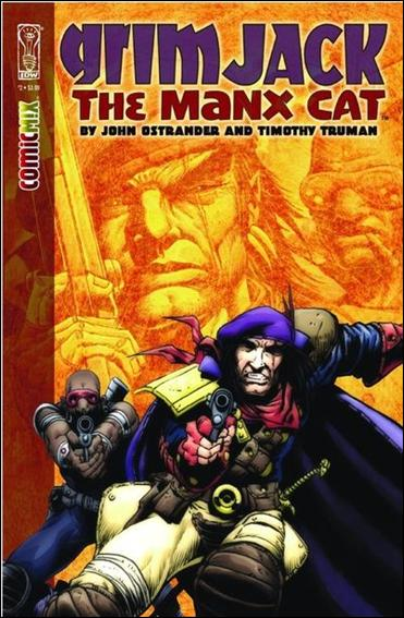 Grimjack: The Manx Cat 2-A by IDW