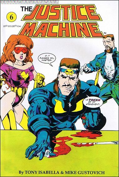 Justice Machine (1990) 6-A by Innovation
