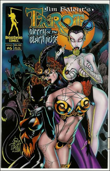 Tarot: Witch of the Black Rose 6-A by BroadSword Comics