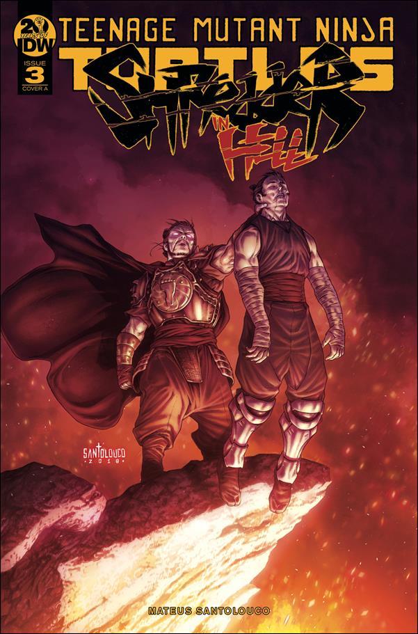 Teenage Mutant Ninja Turtles: Shredder in Hell 3-A by IDW
