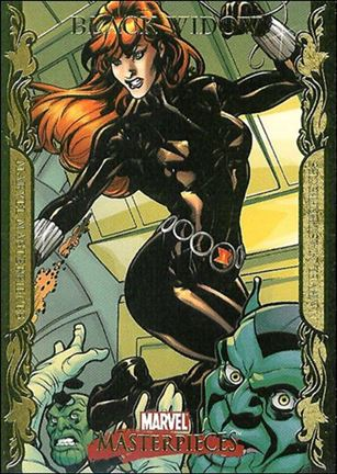 2007 Marvel Masterpieces (Parallel Gold Border Base Set) 11-A