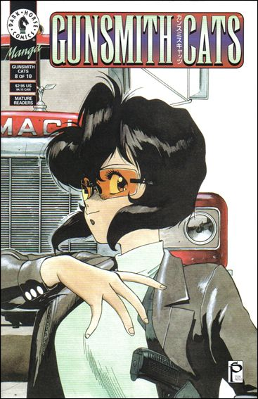 Gunsmith Cats 8-A by Dark Horse
