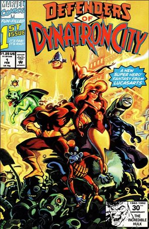 Defenders of Dynatron City 1-A