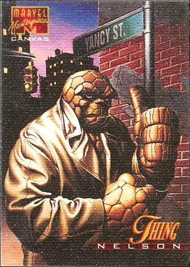 1995 Marvel Masterpieces (Canvas Subset) 21-A by Fleer
