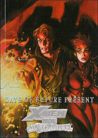 2008 Marvel Masterpieces: Series 3 (X-Men Subset) XM1-A by Fleer