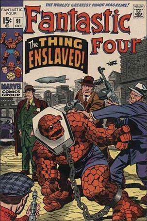 Fantastic Four (1961) 91-A