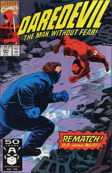 Daredevil (1964) 291-A by Marvel