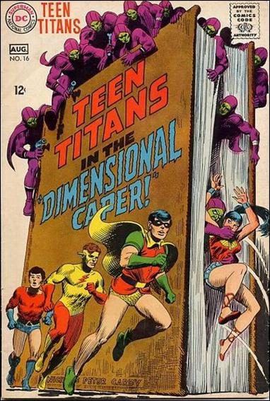 Teen Titans (1966) 16-A by DC