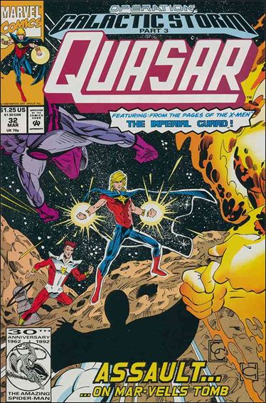 Quasar 32-A by Marvel