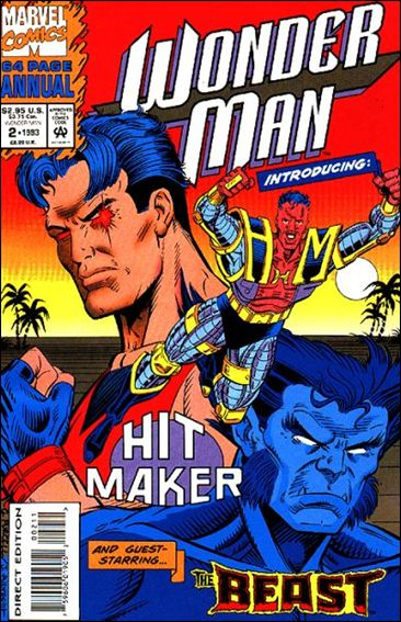 Wonder Man Annual  2-B by Marvel