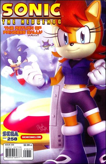 Sonic the Hedgehog (1993) 258-B by Archie