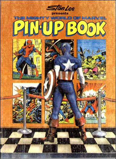 Mighty World of Marvel Pin-Up Book 1-A by Fireside