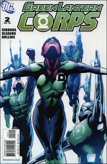Green Lantern Corps (2006) 2-A by DC